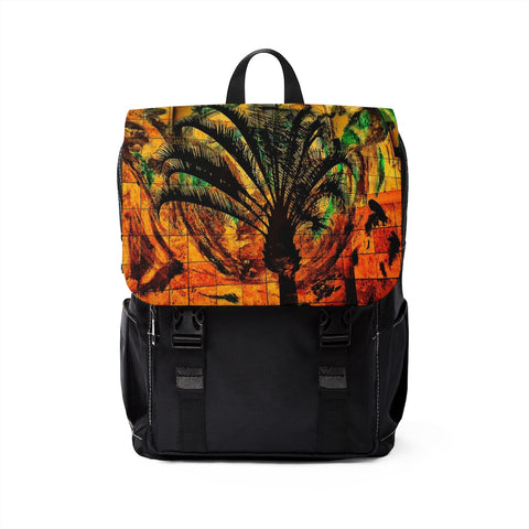 L.A. PALM Unisex Casual Shoulder Backpack - nistka + me