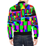 DECOKINKI Unisex All Over Print Casual Jacket - nistka + me