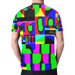 DECOKINKI Unisex All Over Print Mesh T-shirt - nistka + me