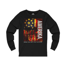 Load image into Gallery viewer, AMERIKA Unisex Jersey Long Sleeve T-Shirt - nistka + me