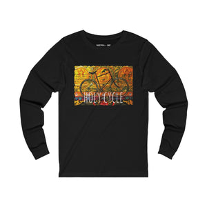 HOLY CYCLE Unisex Jersey Long Sleeve T-Shirt - nistka + me