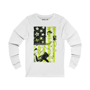 BIG SUMO Unisex Jersey Long Sleeve T-Shirt - nistka + me