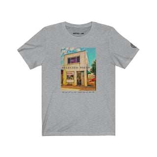 SELECTED POEMS MOTEL Unisex Jersey Short Sleeve T-Shirt - nistka + me