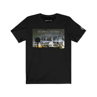 L.A. NIGHT Unisex Jersey Short Sleeve T-Shirt - nistka + me