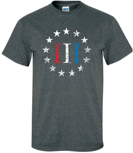 Patriot Apparel Red White Blue Betsy Ross Stars
