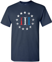 Load image into Gallery viewer, Patriot Apparel Red White Blue Betsy Ross Stars