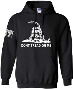 DTOM Gadsden Flag Hooded Sweatshirt