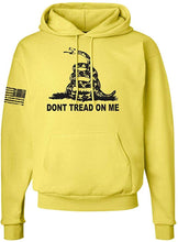 Load image into Gallery viewer, DTOM Gadsden Flag Hooded Sweatshirt