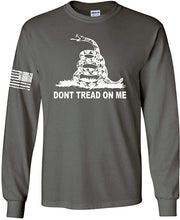 Load image into Gallery viewer, DTOM Gadsden Flag Long Sleeve T-Shirt
