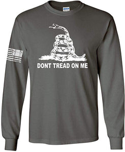 DTOM Gadsden Flag Long Sleeve T-Shirt