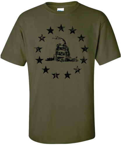Betsy Ross Stars and Snake T-Shirt