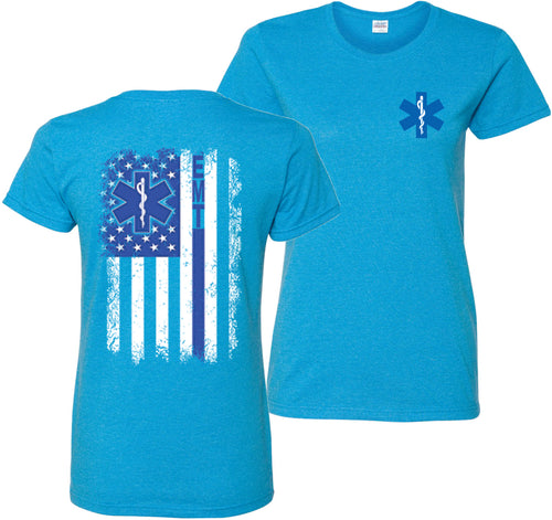 EMT Emergency Medical Technician T-Shirt Women