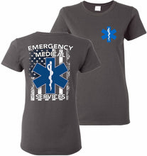 Load image into Gallery viewer, EMT Emergency Medical Technician T-Shirt Women