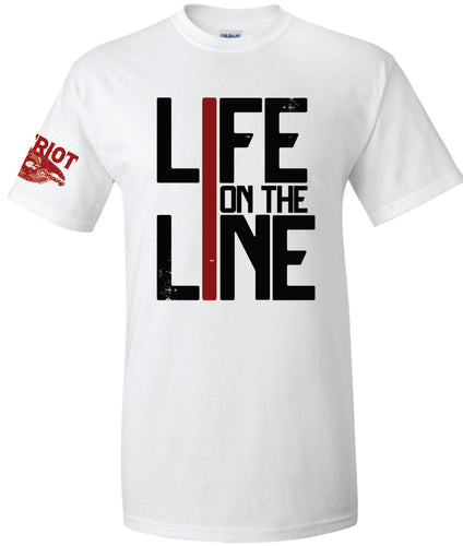 Life on the Line Firefighter T-Shirt