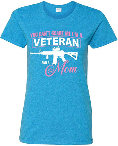 Veteran and a Mom T-Shirt