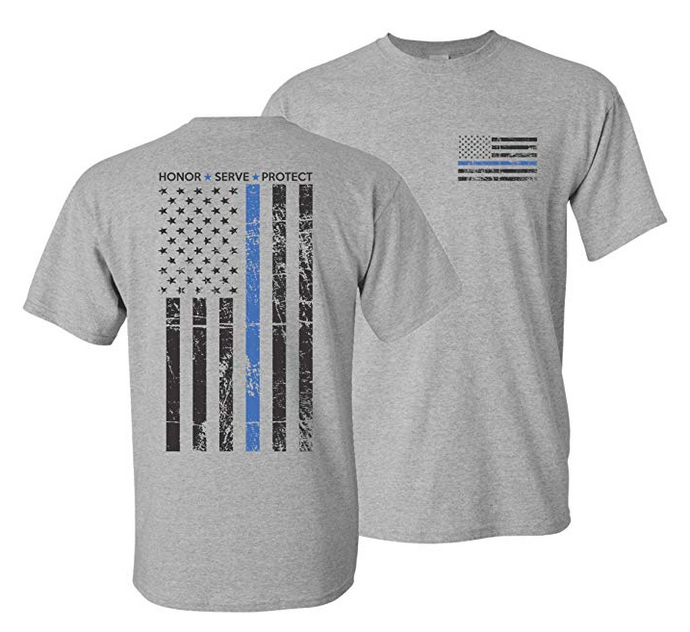 Thin Blue Line Hero T-Shirt