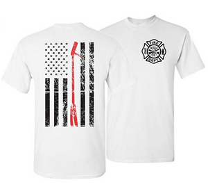 Halligan Thin Red Line Firefighter T-Shirt