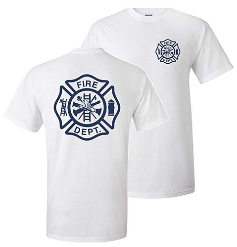 Firefighter T-Shirt Maltese Cross