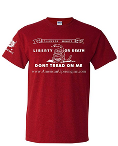 Culpeper Minutemen Liberty Death T-Shirt