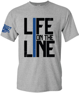 Life on the Line Police T-Shirt