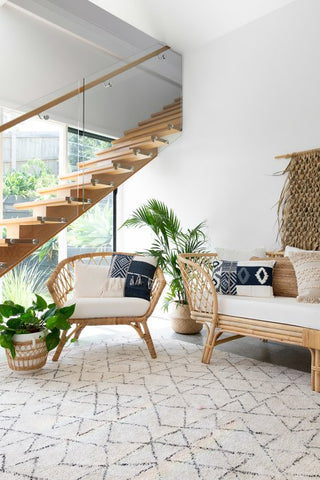 beach house style living room inspiration