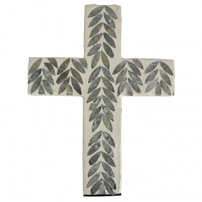 Shell Inlay Wall Hanging Cross- 2 Designs