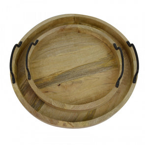 Mango Wood Tray Set