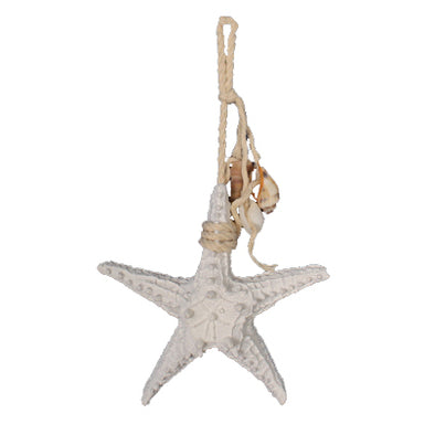 starfish with shell tassel