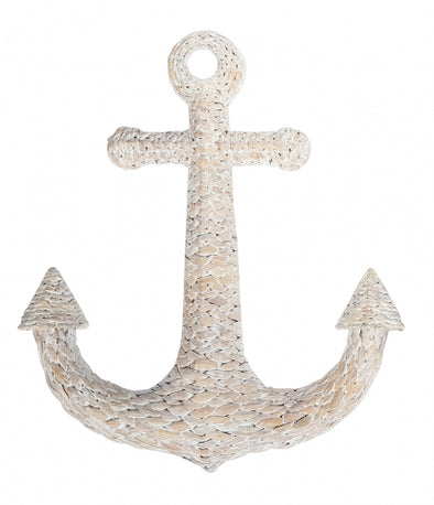 Seagrass Woven Anchor Wall Decor