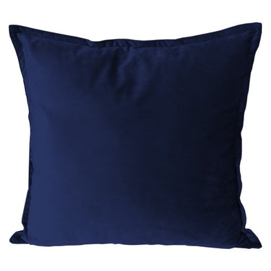 madison velvet cushion navy