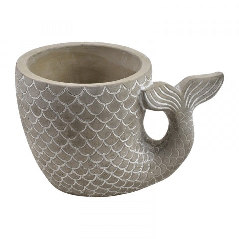Mermaid Tail Plant Pot- 2 Sizes
