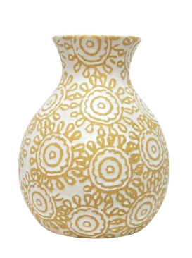 Summer Boho Ceramic Vase- 2 Sizes
