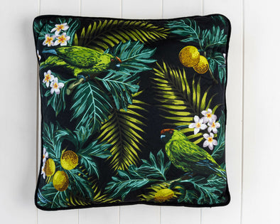 Tropicana Parrot Cushion
