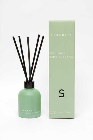 coconut lime scented reed diffuser