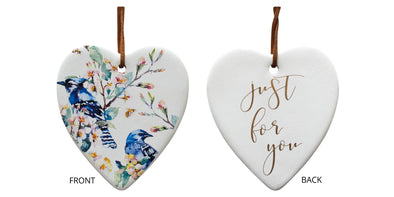 Ceramic Hanging Heart - assorted styles