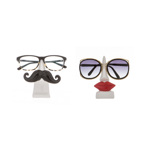 moustache and lips sunglasses and reading glasses holders