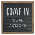 Wall Sign - We are Awesome