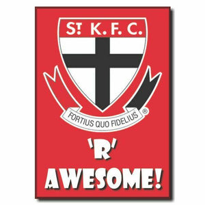 2020 AFL St Kilda Supporter Range - Awesome Magnet