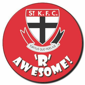 2020 AFL St Kilda Supporter Range - Awesome Badge