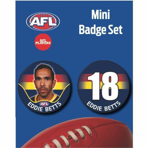 Mini Player Badge Set - Adelaide Crows - Eddie Betts