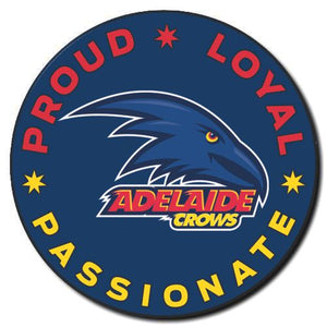 2020 AFL Adelaide Supporter Range - Proud, Loyal, Passionate Badge