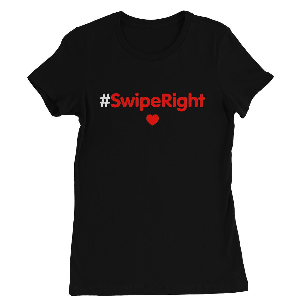Skinny T-Shirt #SwipeRight