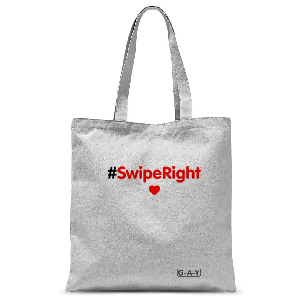 Tote Bag #SwipeRight