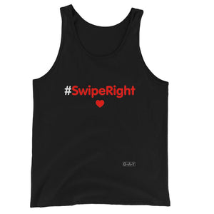 Jersey Tank Top #SwipeRight