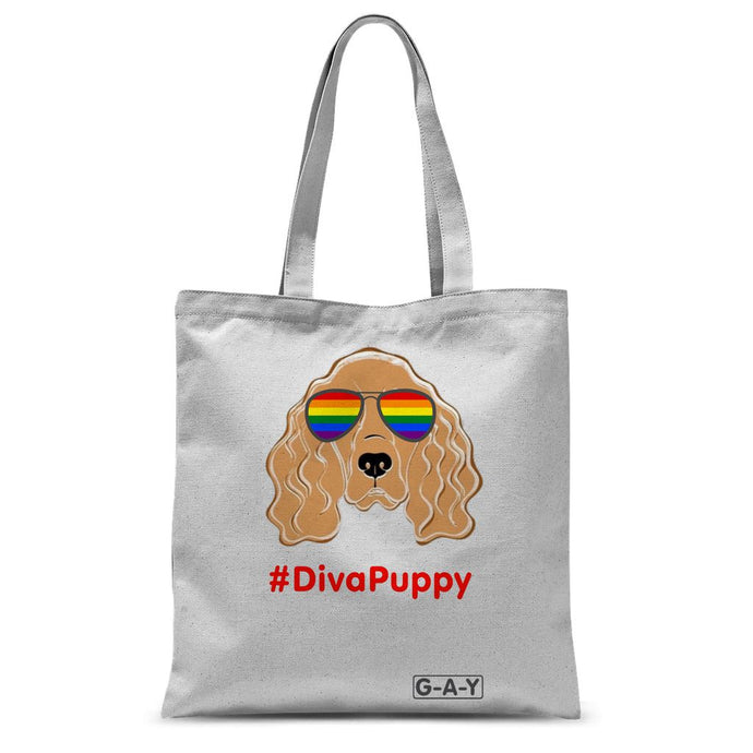 Tote Bag #DivaPuppy