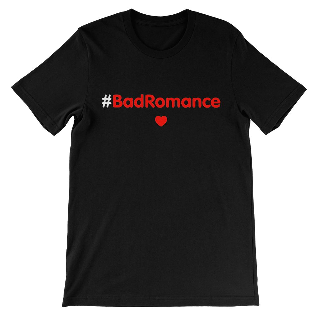 Relaxed T-shirt #BadRomance