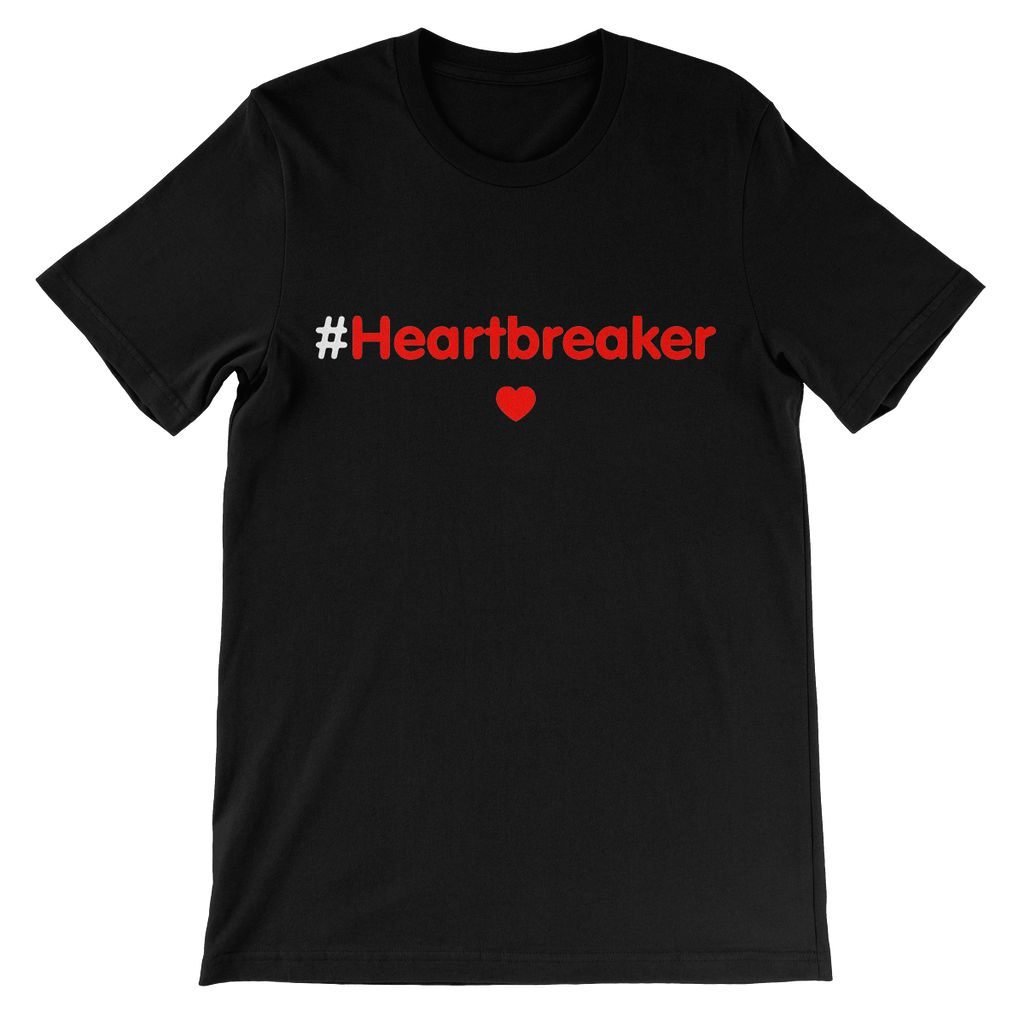 Relaxed T-Shirt #Heartbreaker