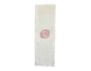 Linen Napkin Rose Set