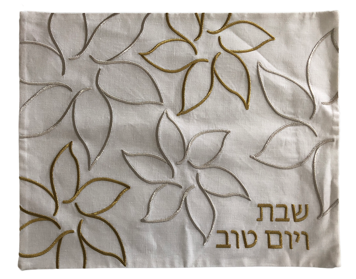 Challah Cover Large Flowers