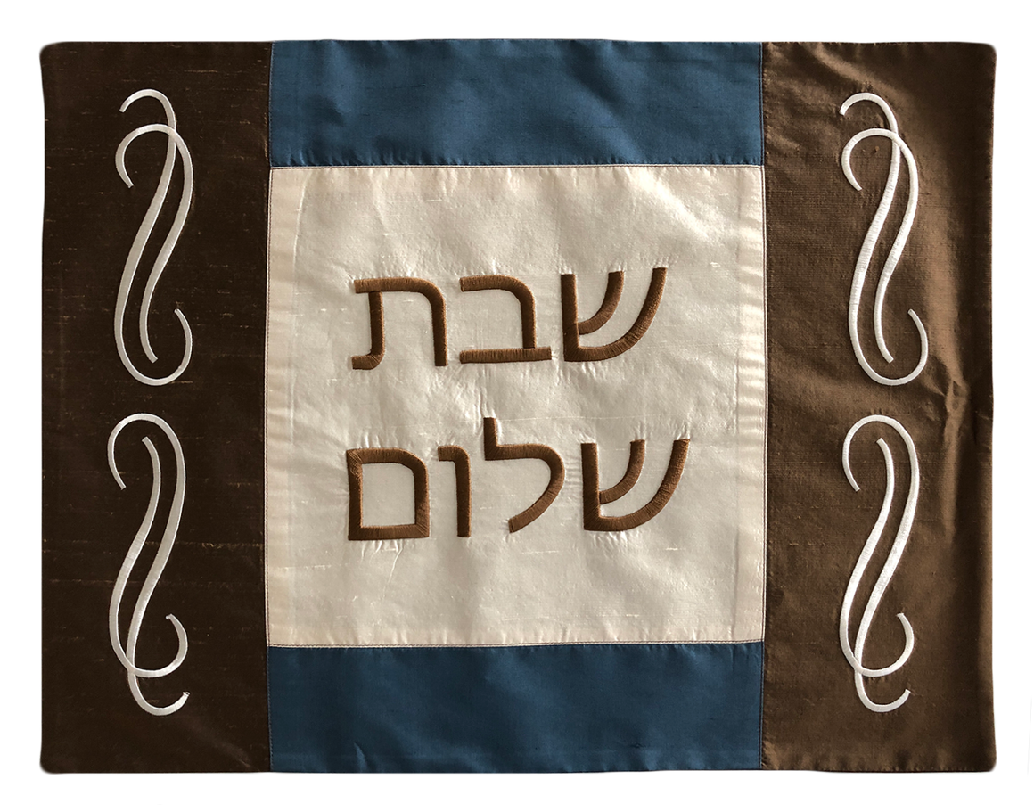 Challah Cover Scroll Stripe